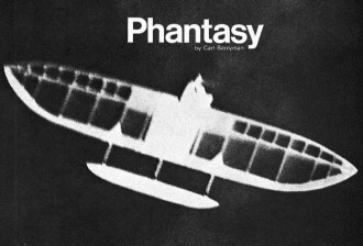 Phantasy model airplane plan