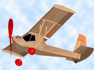 Poullin J.P 30 model airplane plan