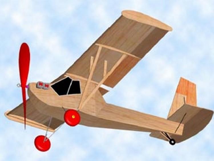 Poullin J.P 30 model airplane plan