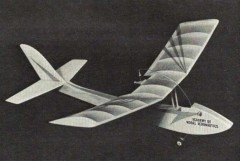 Push-Air model airplane plan