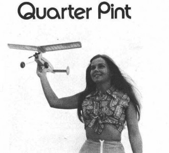Quarter Pint model airplane plan