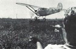 Ryan M-1 model airplane plan