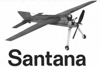 Santana model airplane plan