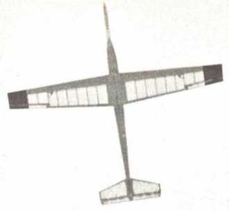 Skydancer model airplane plan