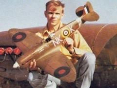 Spitfire MkIIa model airplane plan