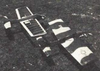 Starjet model airplane plan