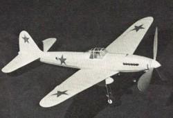 Stormovik model airplane plan