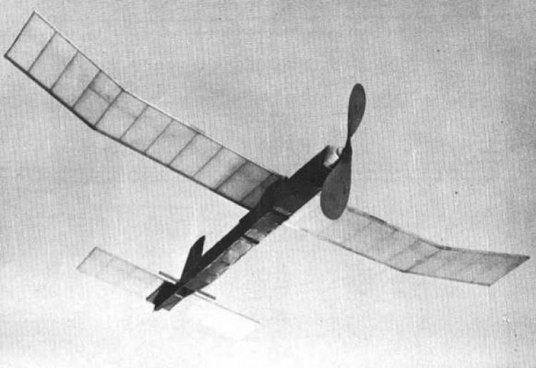 Sundancer Rubber model airplane plan