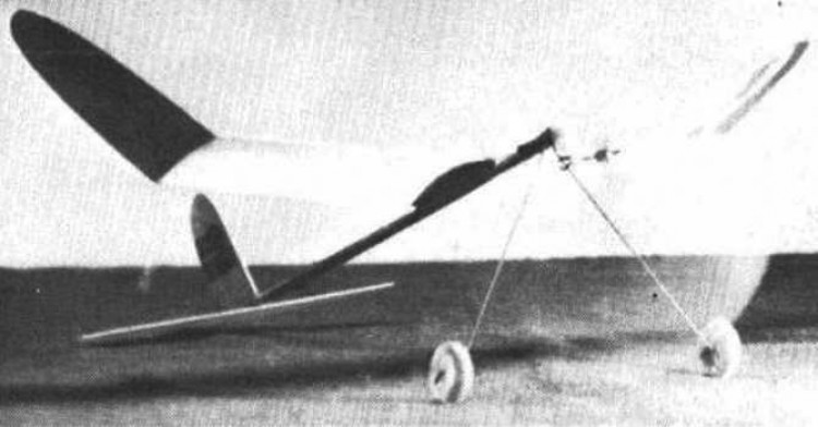 Super Sleek Streek model airplane plan