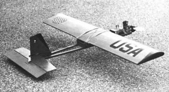 T-19 model airplane plan
