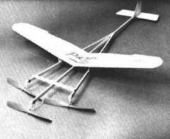 Tenderford model airplane plan