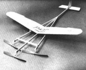 Tenderford model airplane plan