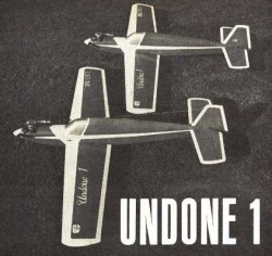 Undone model airplane plan