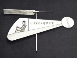 Unicopter model airplane plan