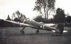 Vickers Wellesley model airplane plan