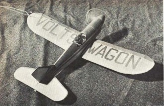 Voltswagen model airplane plan