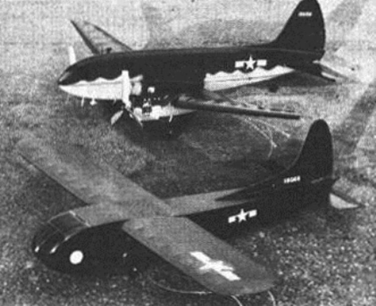 Waco CG-18 model airplane plan