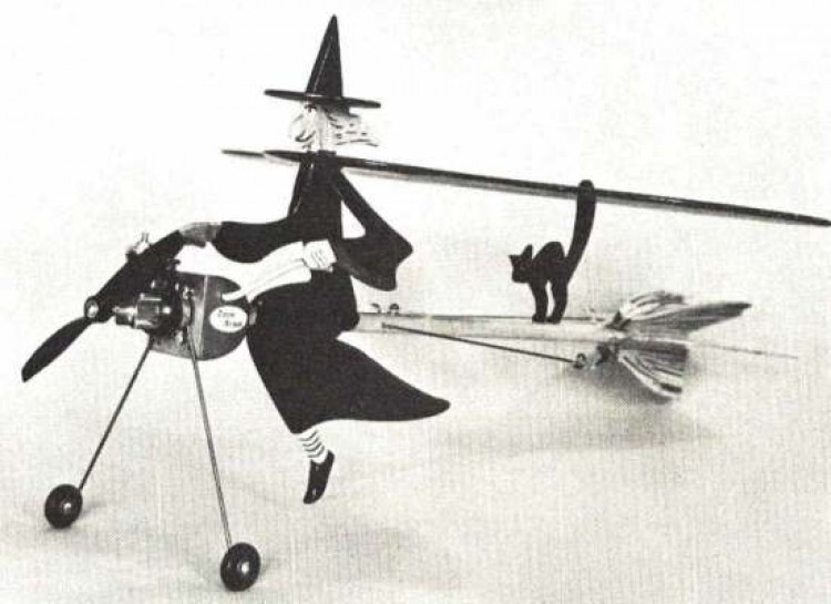 Witch Craft model airplane plan