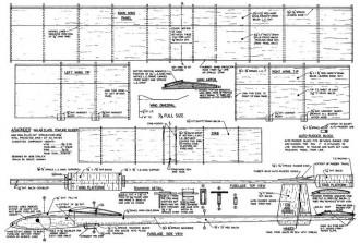 A/Wonder A1 model airplane plan