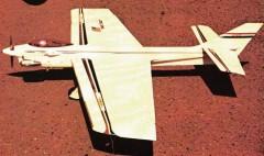 Avenger 35 model airplane plan