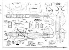Biceps model airplane plan