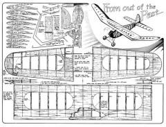 Contest Gas Model 1937 model airplane plan