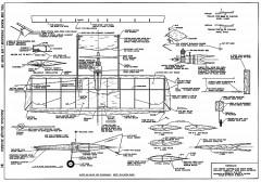 Corrigan. model airplane plan