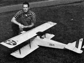 Curtiss JN-4D Jenny model airplane plan