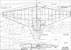 Delta Diamond RC model airplane plan