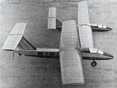 Dolphin II model airplane plan