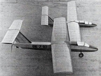 Dolphin II model airplane plan