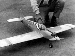Dragonette model airplane plan