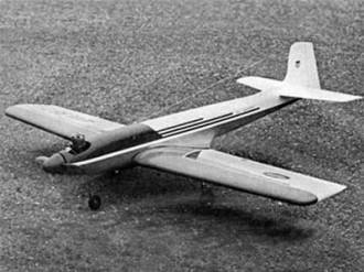 El Cochino model airplane plan