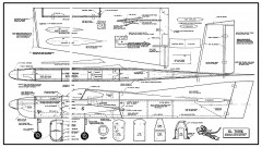 El Tigre. model airplane plan