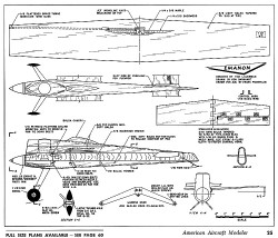 Emanon. model airplane plan