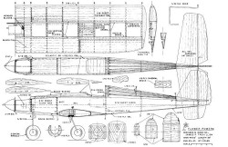 Flower Power model airplane plan