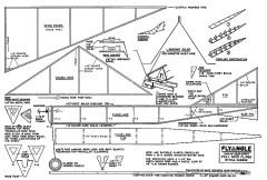 Flyangle model airplane plan