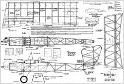 Frantique model airplane plan