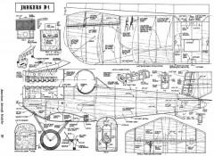 Junkers D-1 model airplane plan