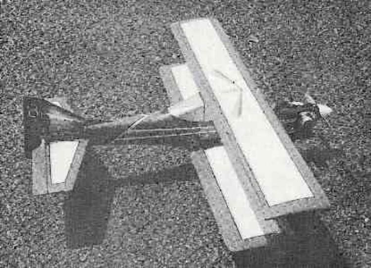 Mallard Bipe model airplane plan