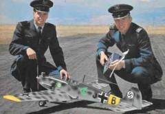 Messerchmitt BF 109E model airplane plan