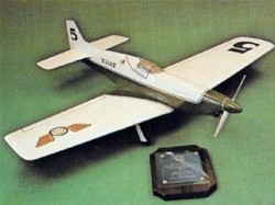 Miss Paranoia model airplane plan