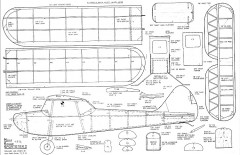 MK Sportster FF model airplane plan