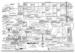 Mustunt I model airplane plan
