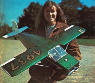 Nesmith Cougar 38in model airplane plan
