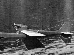 Platypus model airplane plan