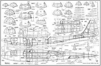 Royal Marine full model airplane plan