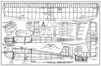 Royal Rudder Bug model airplane plan