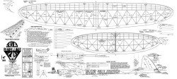 Satellite 1000 model airplane plan