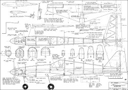 Scimitar 1969 model airplane plan